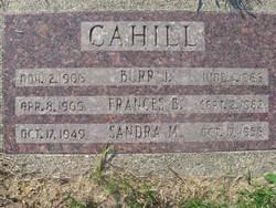 Frances Byrdene <i>Smith</i> Cahill