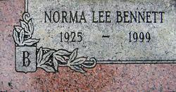 Norma Lee <i>Miller</i> Wilson Bennett