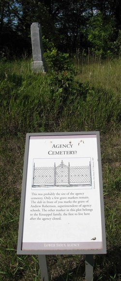 Lower Sioux Agency Cemetery