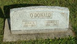 Dora A O'Donald