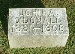 John A O'Donald