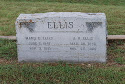 Mary E. <i>Rawlins</i> Ellis