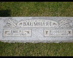 Florence Anna <i>Weidner</i> Baumhart