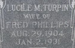 Lucille M <i>Turpin</i> Phillips