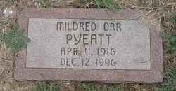 Mildred Orr <i>Phillips</i> Pyeatt
