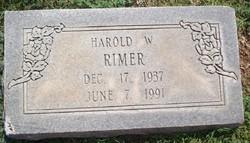 Harold Wayne Rimer