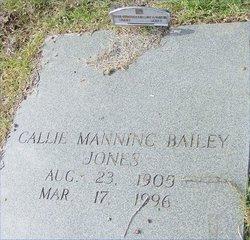 Callie Jane Bailey <i>Manning</i> Jones