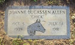Joanne <i>Lucassen</i> Allen
