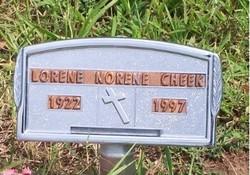 Lorene Norene <i>Davis</i> Cheek