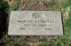 Sgt Martin John O'Boyle