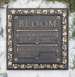 Sofia Mary <i>Valverde</i> Bloom