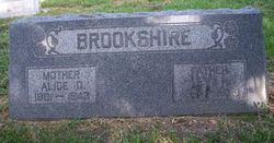 Alice Orena <i>Davis</i> Brookshire