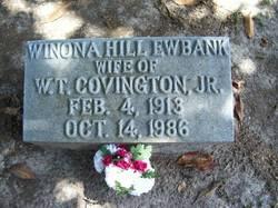 Winona Hill <i>Ewbank</i> Covington