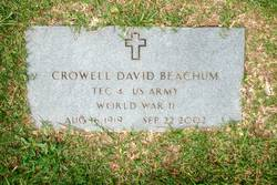 Crowell David Beachum