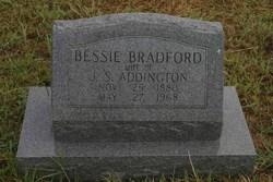 Elizabeth S Bessie <i>Bradford</i> Addington