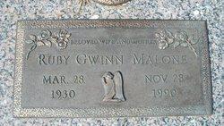 Ruby <i>Gwinn</i> Malone