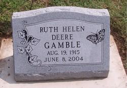 Ruth Helen <i>Bear</i> Gamble