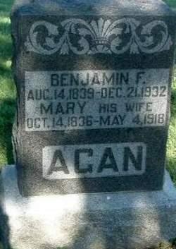 Benjamin Franklin Agan