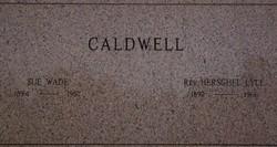 Sue <i>Wade</i> Caldwell