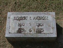 Herbert Ellsberry Ambrose