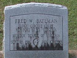 Fred William Bateman