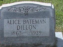 Alice <i>Bateman</i> Dillon