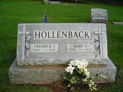 Frederick F Hollenback