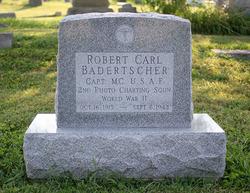 Capt Robert Carl Badertscher