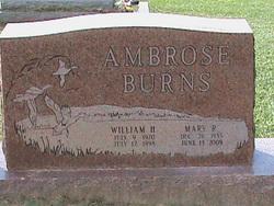 Mary R <i>Burns</i> Ambrose