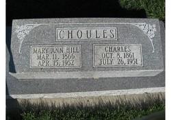 Mary Ann <i>Hill</i> Choules