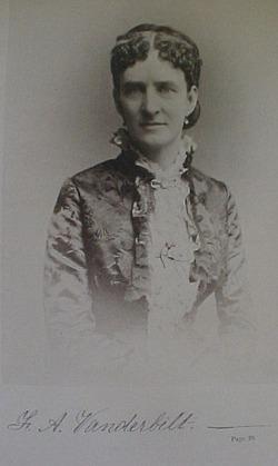 Mrs Frank Armstrong <i>Crawford</i> Vanderbilt
