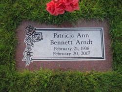 Patricia Ann Patsy <i>Bennett</i> Arndt