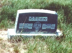 Frances Caroline Fannie <i>Laurence</i> Green