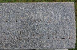 Franklin Fitzgerald Morrill