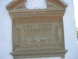 Bnai Brith Lodge Cemetery