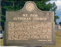 Mount Zion Lutheran Cemetery