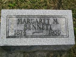 Margaret M. <i>Lamb</i> Bennett