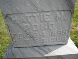 Hattie M Pond