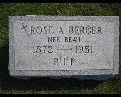 Rose Anna <i>Beau</i> Berger