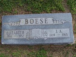 Elizabeth <i>Bott</i> Boese