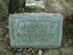 Elizabeth <i>Hatch</i> Albright