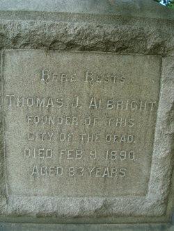 Thomas J Albright