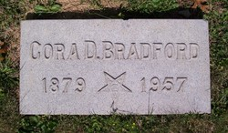 Cora D. <i>Burgess</i> Bradford