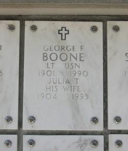 Julia T Boone