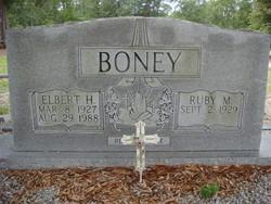 Elbert H Boney