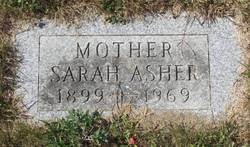 Sarah <i>Robinson</i> Asher
