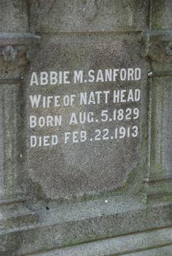 Abbie Maria <i>Sanford</i> Head