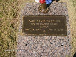 Corp Paul David Gardner