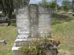 Martha Amanda <i>Hill</i> Crunk