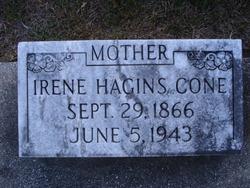 Irene <i>Hagins</i> Cone